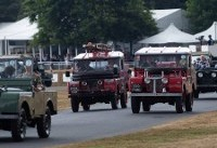 Parade Of 70 Land Rovers Celebrates 70 Years At Goodwood