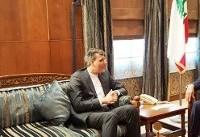 جابری انصاری با رئیس پارلمان لبنان دیدار کرد