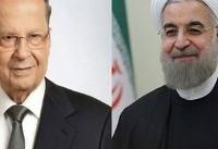 پیام روحانی تسلیم رئیس جمهور لبنان شد