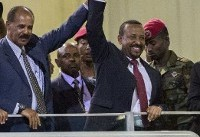 Eritrean, Ethiopian leaders call new peace example to Africa