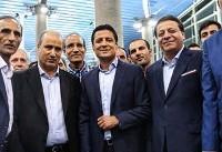 عرب: وظیفه ما بود که به استقبال فغانی برویم/ او افتخار فوتبال ایران است
