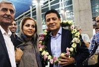 تصاویر / بازگشت تیم داوری ایران از جام جهانی