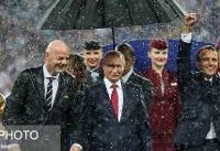 هشدار! روسها چترشان را با کسی تقسیم نمیکنند