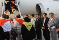 نخستین گروه زائران ایرانی حج تمتع، کشور را ترک کرد/ ترمینال حجاج از بقیه پروازها جدا شد