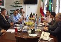 دیدار سفیر ترکمنستان با رئیس فدراسیون موتورسواری و اتومبیلرانی