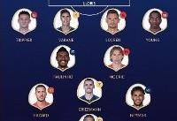 تیم منتخب جام جهانی ۲۰۱۸ مشخص شد + عکس