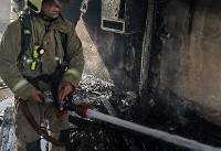 جزییات آتش سوزی انباری یک ساختمان ۶ طبقه در چهار راه ولیعصر