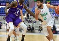 تیم ملی بسکتبال ایران در رده سوم تورنمنت اطلس اسپورت ایستاد