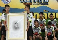 Thai cave rescue: Boys and football coach tried to dig their way out and will be ordained as ...