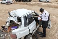 مرگ راننده پراید در تصادف با خاور