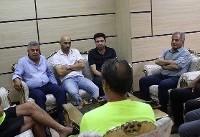 جلسه برانکو با مربیان پایه پرسپولیس