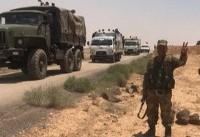 تروریستها استان قنیطره را ترک میکنند/بازگشت نیروهای سوری به نزدیکی بلندیهای جولان