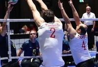 ایران با صعود به نیمهنهایی در یک قدمی کسب سهمیه پارالمپیک قرار گرفت