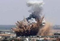 حمله هوایی صهیونیستها به غزه در پاسخ به بادبادک؛ یک فلسطینی شهید شد