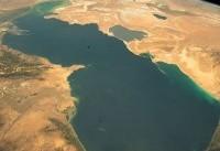 تصویر زیبایی که فضانورد آلمانی از دریای خزر مخابره کرد + عکس