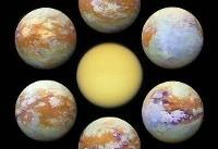 ثبت واضحترین تصویر از دومین قمر بزرگ منظومه شمسی