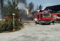 حریق در یک واحد صنعتی «خمین» دو کشته و یک مصدوم برجا گذاشت