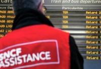 فرانسه.. زیان سنگین اعتصاب کارکنان راه آهن