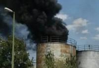 انفجار مهیب در شهرک صنعتی خمین