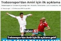 زمان معارفه وحید امیری در ترابوزان اسپور ترکیه مشخص شد