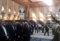 تجدید بیعت مقامات دستگاه دیپلماسی کشور با آرمانهای  بنیانگذار کبیر انقلاب اسلامی