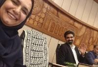 سپنتا نیکنام  در شورای شهر یزد شرکت کرد