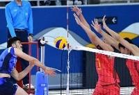 صدرنشینی والیبالیستهای جوان ایران با پیروزی بر کره جنوبی