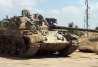 گروههای تروریستی بخش دیگری از تسلیحات خود را تحویل ارتش سوریه دادند