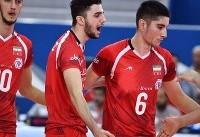 پیروزی تیم والیبال جوانان ایران برابر کره جنوبی