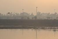 عکس/ اهواز غرق در غبار و آلودگی