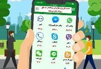 اینفوگرافیک / تعداد کاربران فعال شبکههای اجتماعی و پیامرسانها