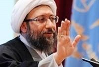 آملی لاریجانی: سخنان رئیسجمهور در هشدار به آمریکا سخن مردم و مسئولان است