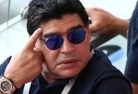 مارادونا: باید به مسی استراحت داد