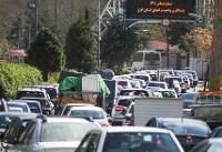 ترافیک نیمه سنگین در چالوس