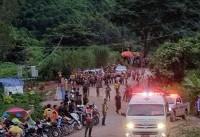 مرحله پایانی عملیات نجات افراد محبوس شده در غار تاملونگ تایلند؛یک قدم تا زندگی دوباره