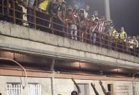 شعار هواداران سپاهان علیه سرمربی پیکان/سرعت ضعیف اینترنت ورزشگاه