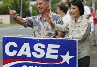 The Latest: Case wins Democratic House primary in Hawaii