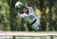 حسین حسینی در تمرین استقلال حضور پیدا کرد