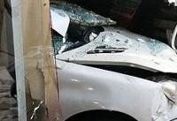 تصادف عجیب در تهران+تصاویر