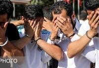 ویدئو / طرح دستگیری سارقان تهران