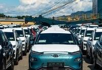 عرضه نخستین اتومبیل برقی هیوندای
