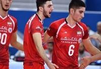 صعود تیم والیبال ایران به فینال AVC