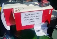 سرقت ۱۵۰ دکل در تهران