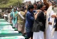یمن؛ تشییع دهها کودک که در بمباران ائتلاف سعودی (+عکس) / توجیه وزیر خارجه امارات: جنگ، پاک نیست