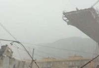 Rescuers search rubble for survivors after motorway bridge collapses in Genoa, Italy leaves at ...