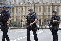 Car crash outside U.K. Parliament; terrorist suspect arrested
