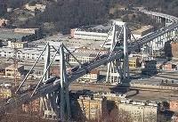 تصاویر و فیلم   سقوط مرگبار پل Â«جنوا» در ایتالیا