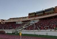 حضور ۵۰هزار نفری هواداران در ورزشگاه/ حضور دژاگه و شجاعی در میدان