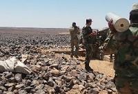 حمله ارتش سوریه به مواضع تروریست ها در مرز ادلب