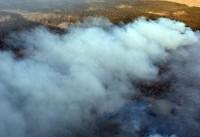 ادامه آتشسوزی هورالعظیم، راهی شدن ۲۵۰ نفر به مراکز درمانی